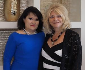 Debbie McKeever, Kelly de Kort, event chairs.