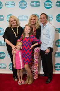Beth Rafferty, Brooklyn Geyer, Jaylie Geyer, Shay Geyer and Brian Geyer, IBB Design Furnishings