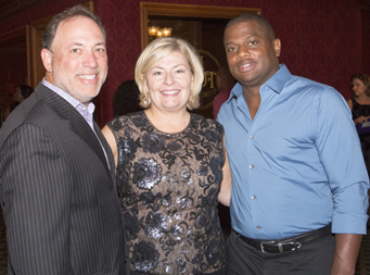 Michael Grishman, Suzanne Bock Grishman, LeRoy Moore III.