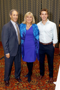 Randy Flink; Paige Flink, CEO, The Family Place; Alex Flink