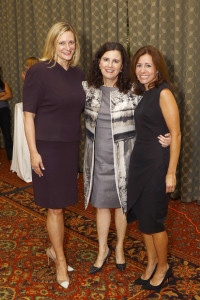 Jennifer Sampson, CEO, The United Way, Advocacy Award honoree; Deb Gibbins, Betsy Dixon