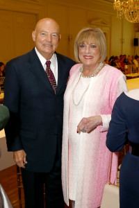 John and Patty Jo Turner, a Sue Goodnight Service Award honoree