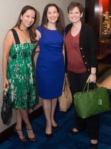 Lisa Bhattacharya, Kristin Bauer, Julie Farmer