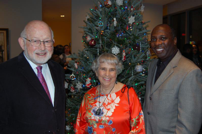 Dallas Black Dance Theatre Founder's Luncheon honorees Don and Norma Stone, and Mark Cooks.