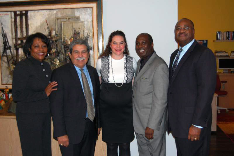 Georgia Scaife, Michael Hinojosa, Kellie Crewse, Mark Cooks, and Gilbert Gerst.