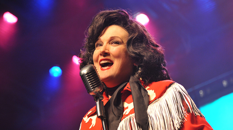Julie Johnson as Patsy Cline
