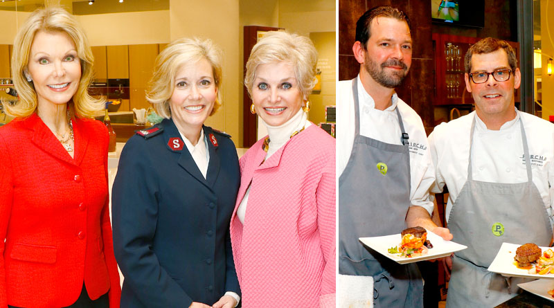 The Salvation Army Women's Auxiliary Fashion Show and Luncheon  Cooking Demonstration at Pirch