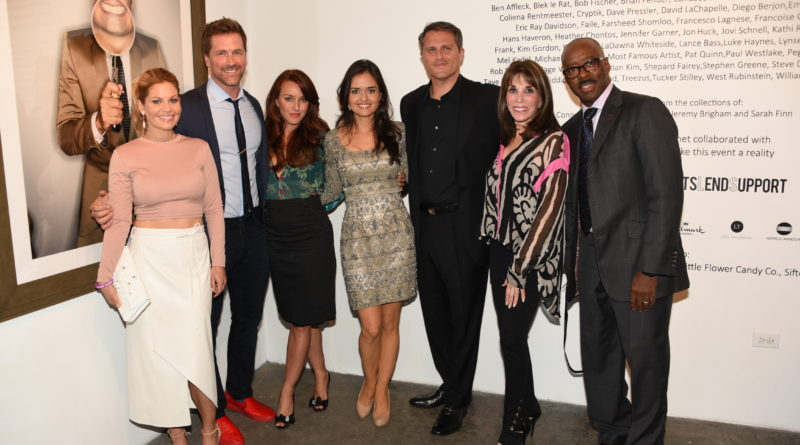 Candace Cameron, Paul Greene, Kate Austin, Danica McKellar, Scott Sveslosky, Kate Linder, Courtney B. Vance