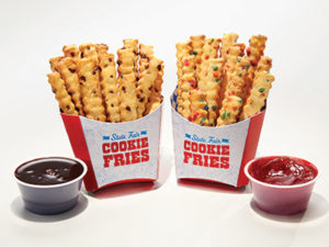 big Tex State Fair cookie fries