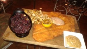 cedars-social-schnitzel-with-red-cabbage