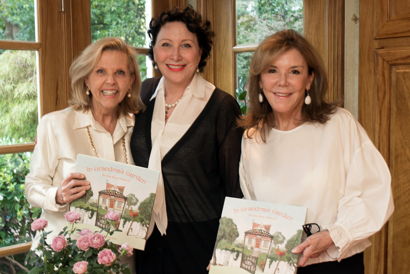 Muffin Lemak and Susan Palma Host Reception With Brenda West Cockerell, Author of In Grandma's Garden in Honor of Breast Cancer Awareness Month