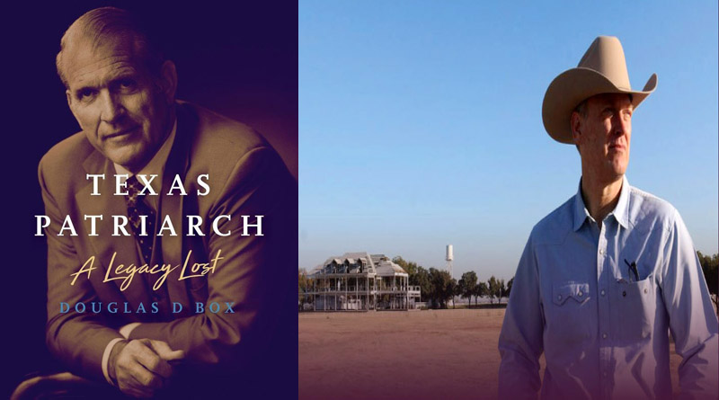 Thursday: Jan 5: Doug Box reveals Texas Patriarch: A Legacy Lost at Barnes & Noble in Lincoln Park