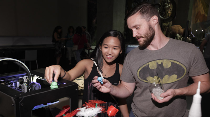 Friday, June 23 ONLY: Last-minute tickets released for sold out adults-only Social Science event from 7-11 P.M. at the Perot Museum Of Nature and Science