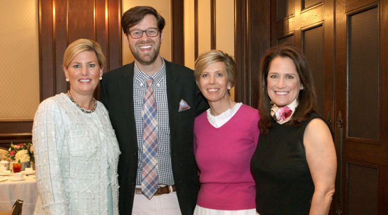 Stories of Artful Entertaining and Southern Traditions Brought Delighted Smiles as James Farmer Spoke at the Park Cities Historic and Preservation Society Luncheon