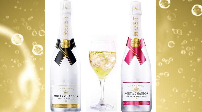 Enjoy Moët& Chandon's Ice ImperialandIce Imperial Rosé on Ice!