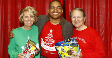 Q & A with Pierce Allman, a co-chair of Christmas in the Park