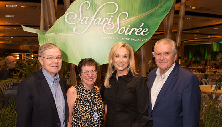ZOO TO DO 2018: Safari Soirée presented by  Eugene McDermott Foundation and Ruth O'Donnell Mutch  Surpasses its $1 Million Goal
