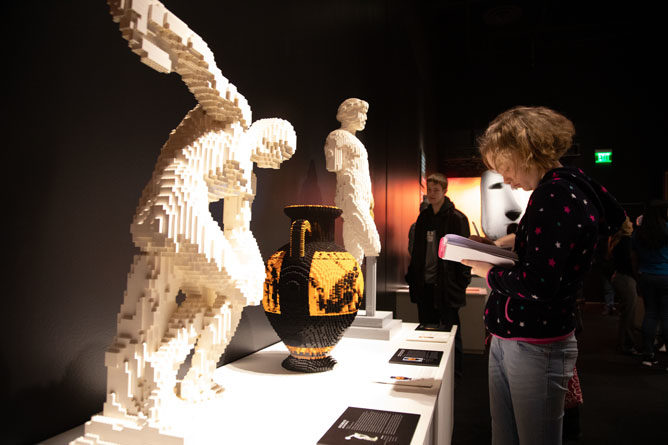 Due To Popular Demand, The Perot Museum Of Nature and Science Extends The Art Of The Brick Traveling Exhibition Until Labor Day (Sept. 2)