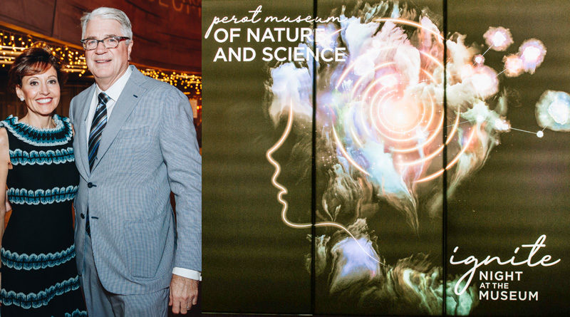 Perot Museum of Nature and Science's Annual Fundraising Gala, Night At The Museum: Ignite, Set The Night Ablaze Nov. 9