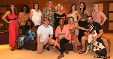 DSM Associate Producers Board. Photo by Rob Wythe/Gittings.
