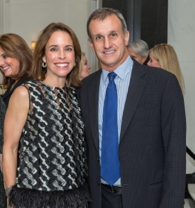 President of the Dallas Museum of Art Board of Trustees Catherine Rose and Lucilo Pena