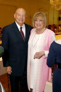 John and Patty Jo Turner, a Sue Goodnight Service Award honoree