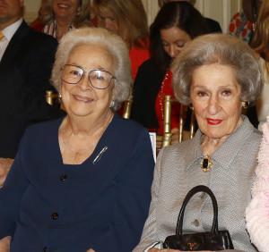 Sue Goodnight Service Award Recipients: Isabell Haggar, Rosemary Haggar Vaughan
