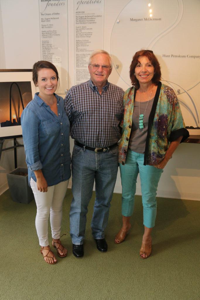 Taylor Gromatsky, Steve and Kim Gromatzky