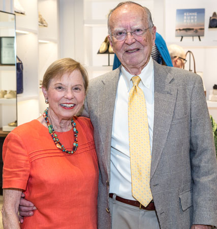 Jean and Dr. Dale Fuller, board member and founder.