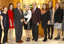 2016 KidneyTexas, Inc. The Runway Report Luncheon and Fashion Show check presentation to beneficiaries hosted by Bachendorf's in Preston Center