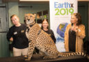 Trammell S. Crow and EarthX host the Cheetah Conservation Fund and Ambassador Cheetah Winspear from the Dallas Zoo