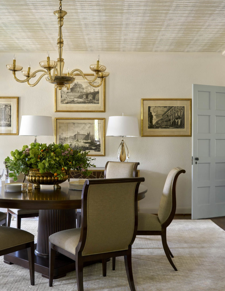 First Place Dining Room by Chambers Interiors