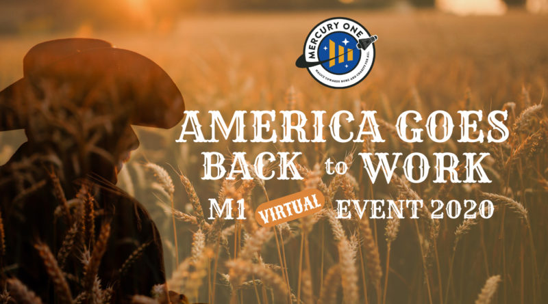 Tania and Glenn Beck Host America Goes Back to Work M1 Virtual Event 2020 benefiting Mercury One