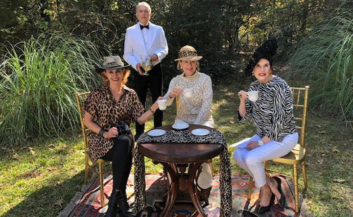 Mad Hatter's Tea Out of Africa Into the Garden Celebrates its 33rd Year