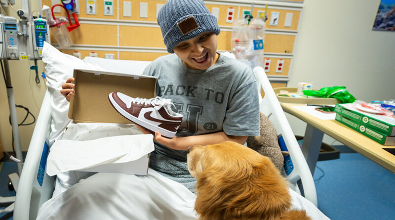 NBA All Star Luka Dončić Kicks Off Dallas Mavericks Opener With Special Surprise For 80 Patients At Children's Health