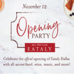 Nov. 12: Eataly Storewide Opening